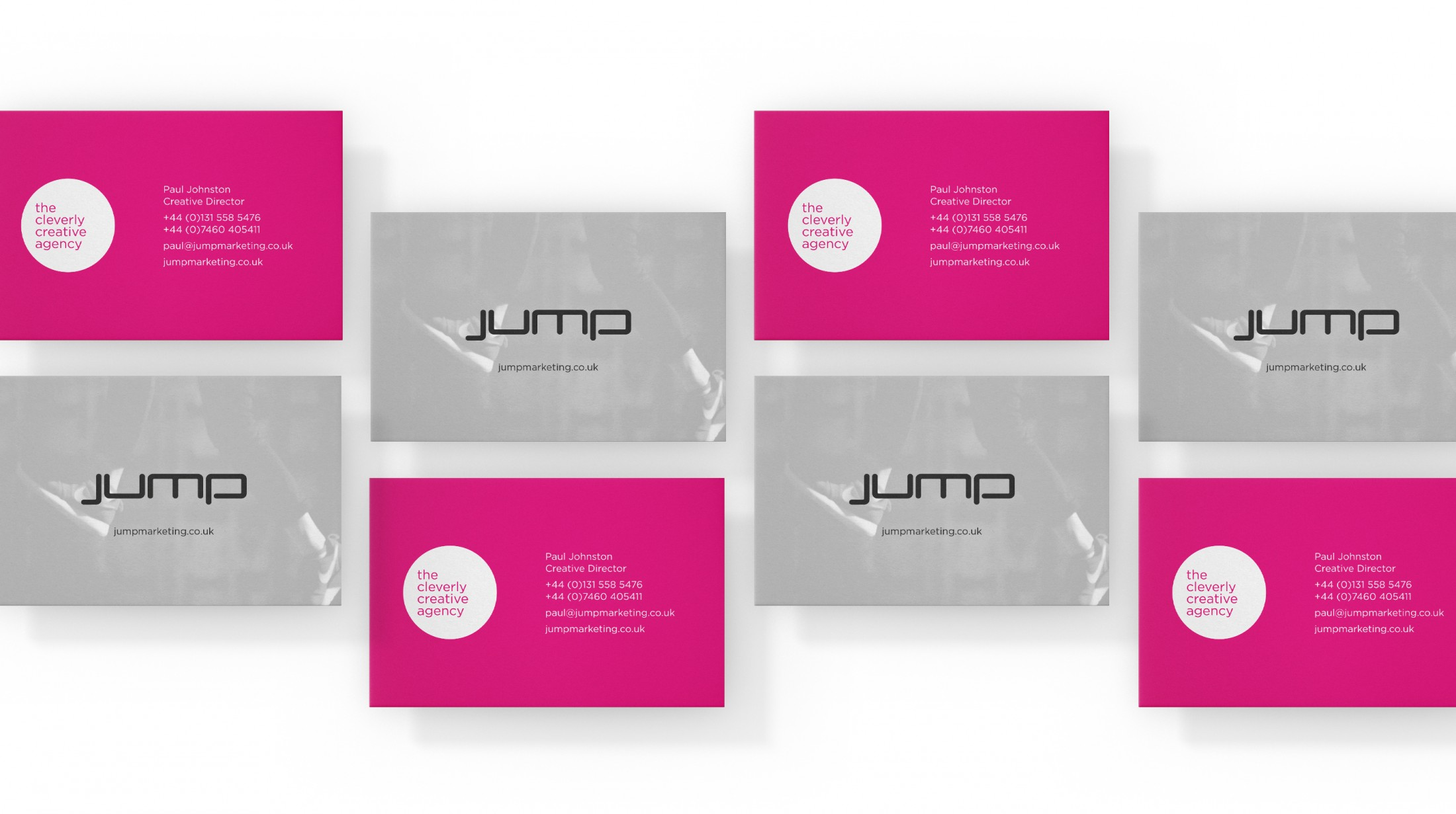 Jump branding for stationery