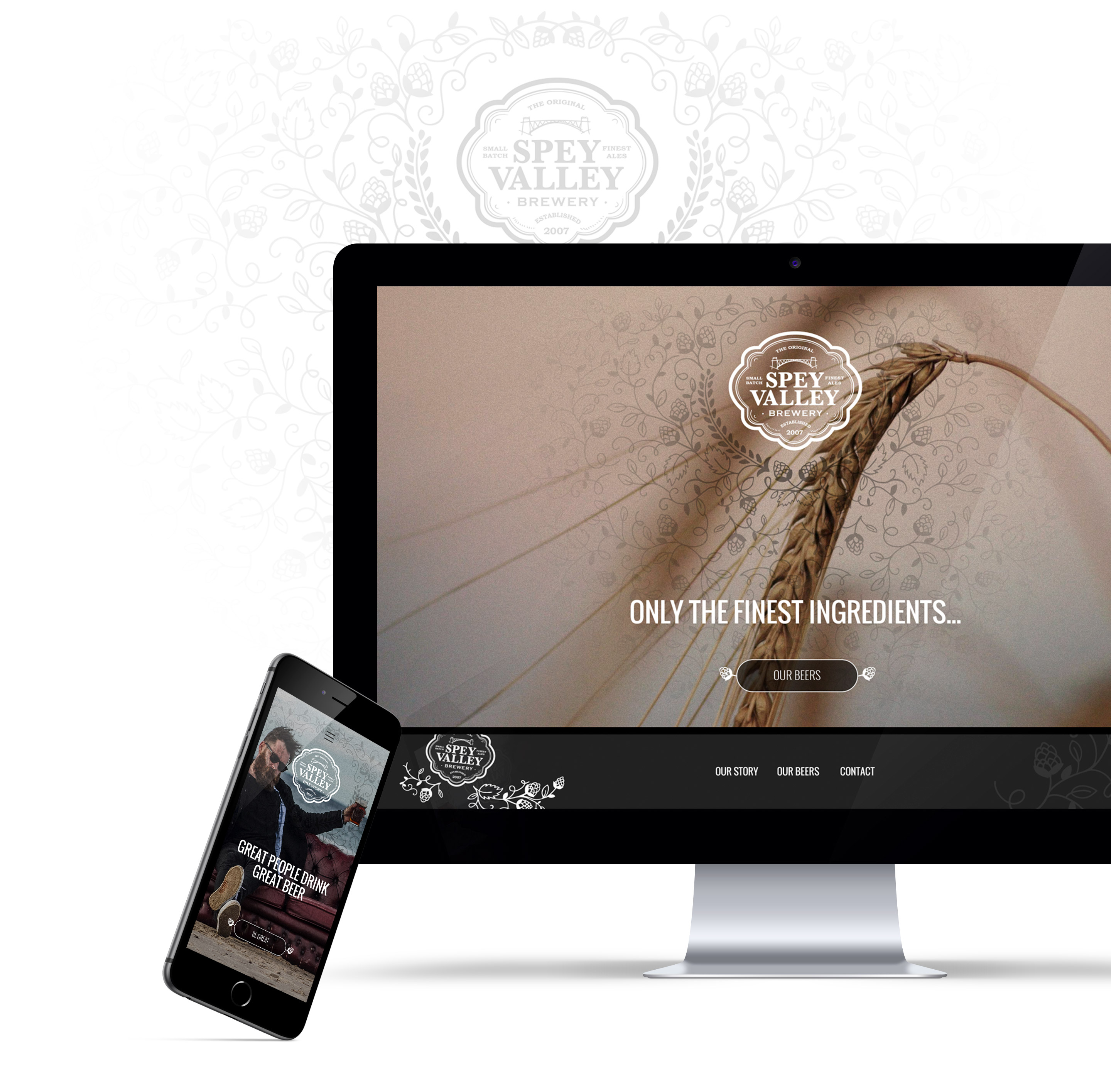 Spay Valley Brewery website